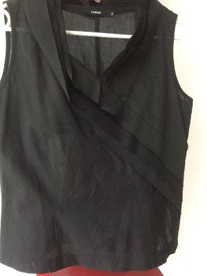 Schwarze Bluse von VERSE, Größe 38, 18€