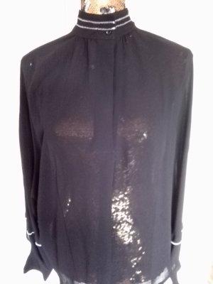 schwarze Bluse von Yaya
