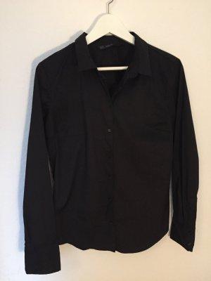 Schwarze Bluse von Zara