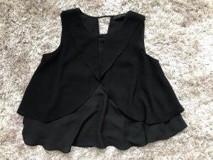 Schwarze Bluse, ZARA Größe XS
