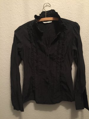 Schwarze Bluse Zara, M