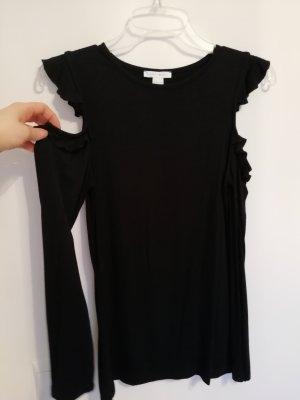 Amisu Blusa de manga larga negro