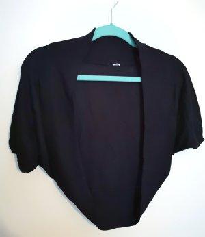 Schwarze Bolero-Jacke