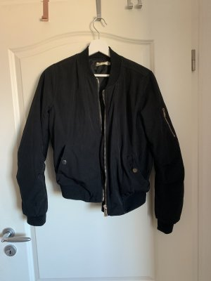 Best emilie Bomber Jacket black-gold-colored