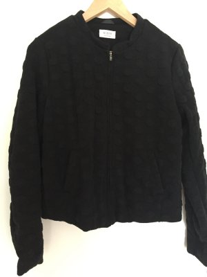 Nümph Bomber Jacket black mixture fibre
