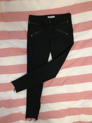 Schwarze Boot Cut Jeans