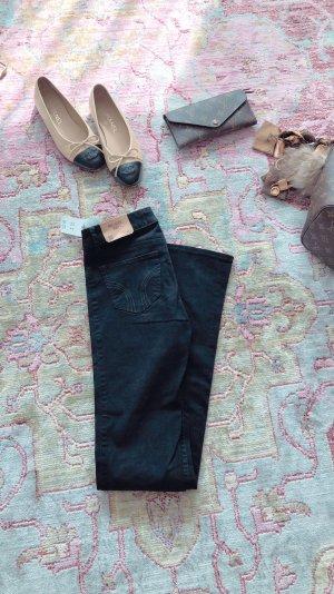 Hollister Pantalón de campana negro