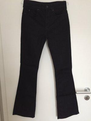 schwarze Bootcut-Jeans von Drykorn
