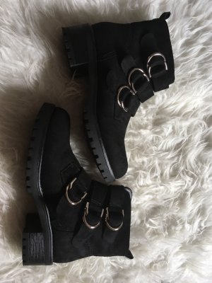 Desert Boots black-silver-colored