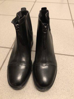 Schwarze Boots Geox Respira