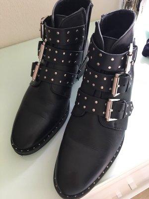 schwarze boots von asos