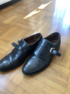 Massimo Dutti Slip-on Shoes black