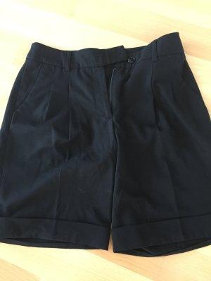 schwarze Büro Shorts von Hauber