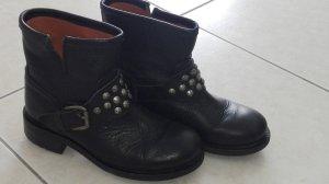 Schwarze Buffalo Boots