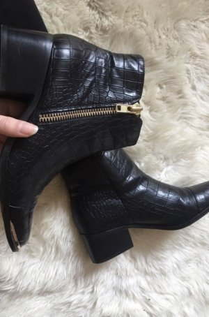 san francisco 2f47f c471c Buffalo Ankle Boots black-gold-colored