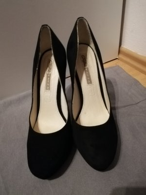 Schwarze Buffalo High Heels Gr 40