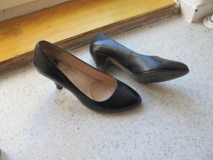schwarze Buffalo-Pumps, Gr. 38 **kaum gettragen**