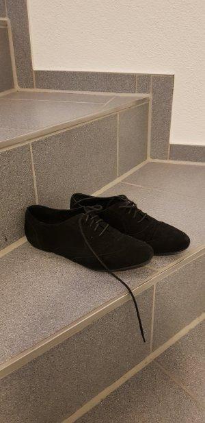 Schwarze Buffalo Schuhe