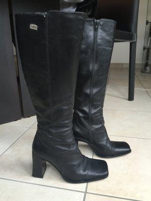 Schwarze Buffalo Stiefel Gr.37