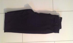 schwarze Bundfaltenhose von Zero in Größe 36