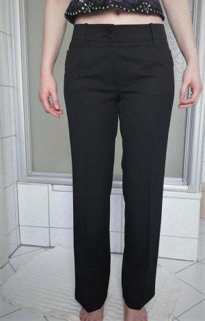 schwarze Bundfaltenhose von Zerres 38 Stoffhose Blazerhose Anzughose