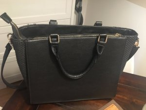 schwarze Business Handtasche