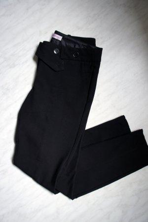 Schwarze Business Stoffhose von Orsay, Gr. 36