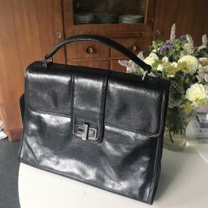 Schwarze Business Tasche
