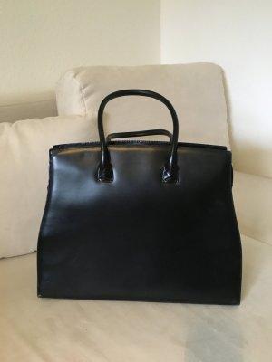 Schwarze Businesstasche