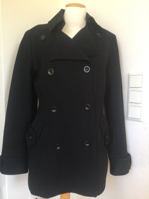 de.corp by Esprit Pea Jacket black