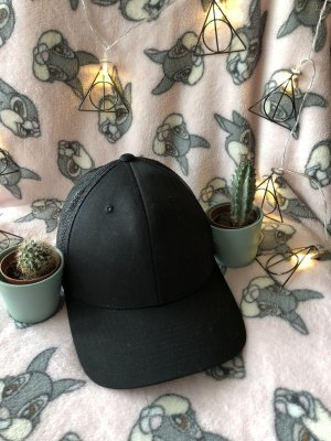 Gorro plano negro