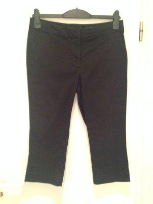 Schwarze Capri-Hose von H&M in Größe 40