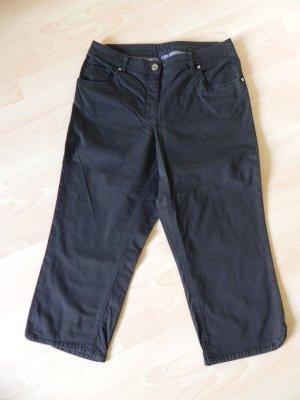 Breuninger Pantalone Capri nero Tessuto misto
