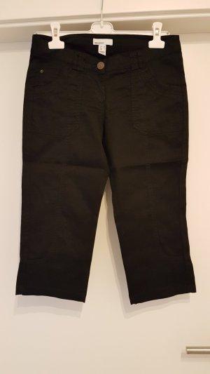 MNG Basics Pantalón capri negro Licra