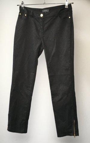 Schwarze Caprihose Manguun Gr. 38