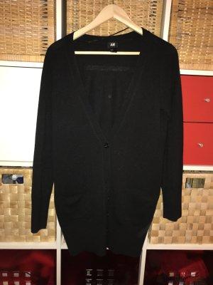 Schwarze Cardigan mit Taschen