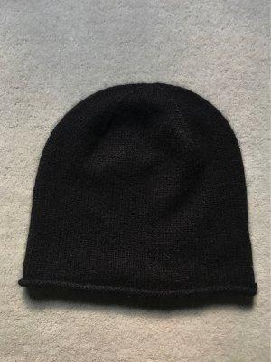 Schwarze Cashmere Mütze Cos