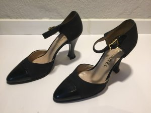 Schwarze Chanel Pumps Gr.38