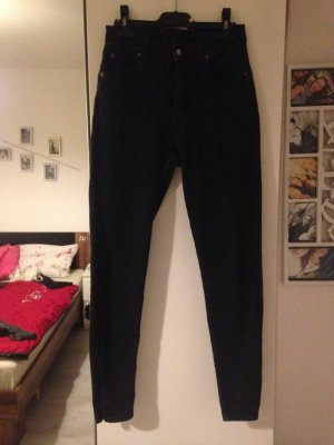 Schwarze Cheap Monday High Waist Jeans