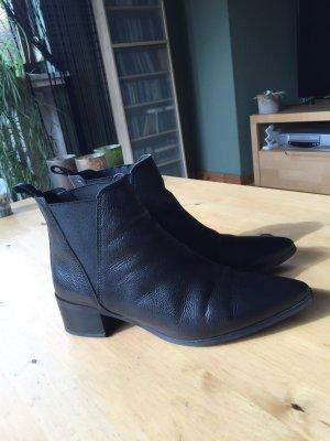 Bianco Slip-on laarzen zwart