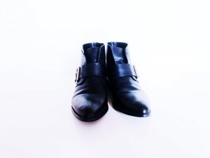 Mango Chelsea Boot noir-doré
