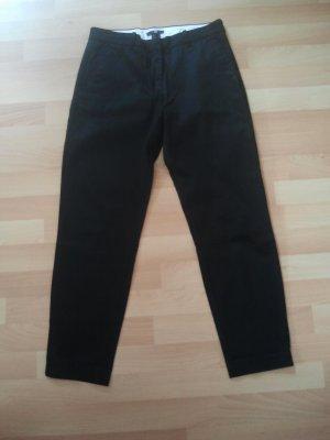 Schwarze Chinohose von H&M in Größe 38