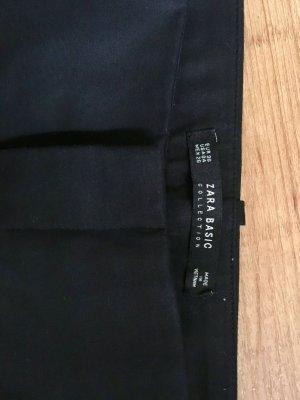 Zara Basic Chinos black mixture fibre