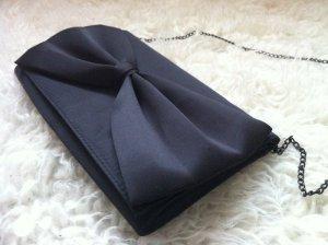 schwarze Clutch Sommertasche