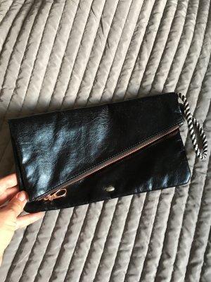 Esprit Clutch black imitation leather