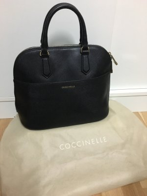Coccinelle Business Bag black-silver-colored