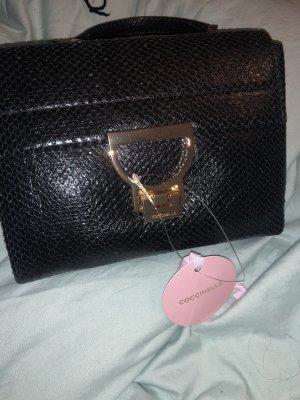 Schwarze coccinelle Tasche