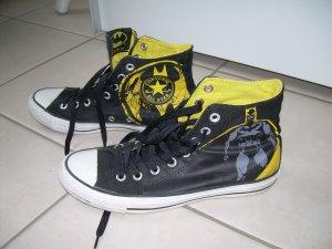 schwarze Converse All Star Chucks Gr. 40 Batman Special Edition