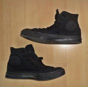 schwarze Converse All Star Original 37,5 Sneaker Turnschuhe