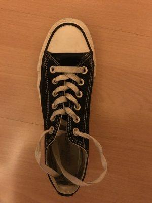 Schwarze Converse Gr. 6
